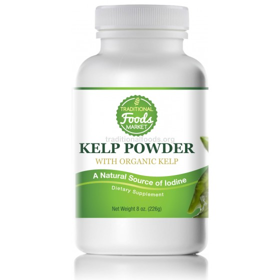 Organic Kelp Powder, 8 oz
