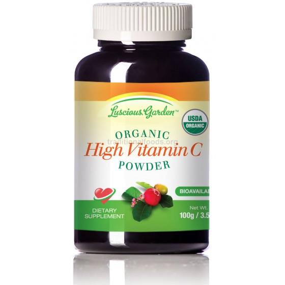 Organic True Whole Food Vitamin C, 3.5 oz